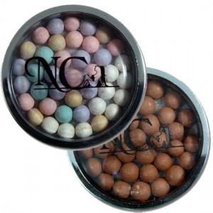 Perles de soleil multicolores et foncées