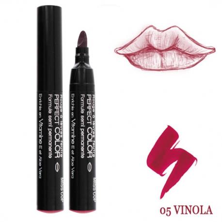 Rouge à lèvres feutre Perfect color Vinola