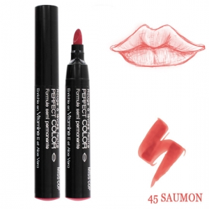 Rouge à lèvres feutre Perfect color Saumon