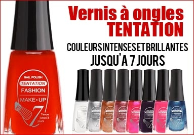 vernis a ongles couleur intense